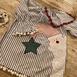 Mud Pie Santa Dress